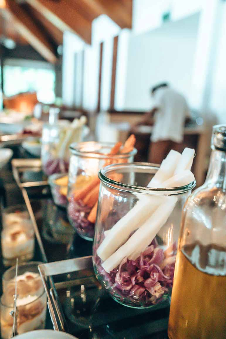 breakfast buffet at The Residence Maldives