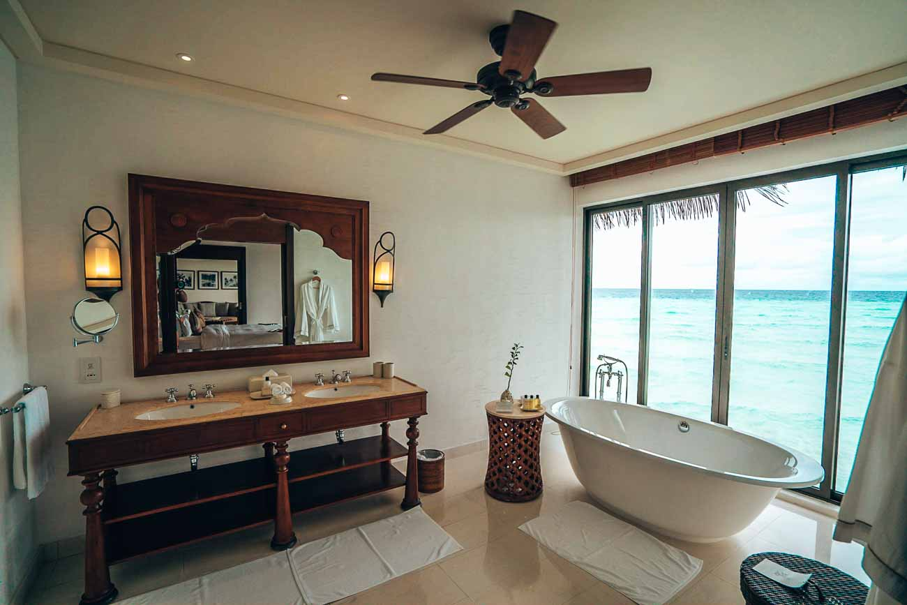 Water Villa at Welcome drinks at The Residence Maldives