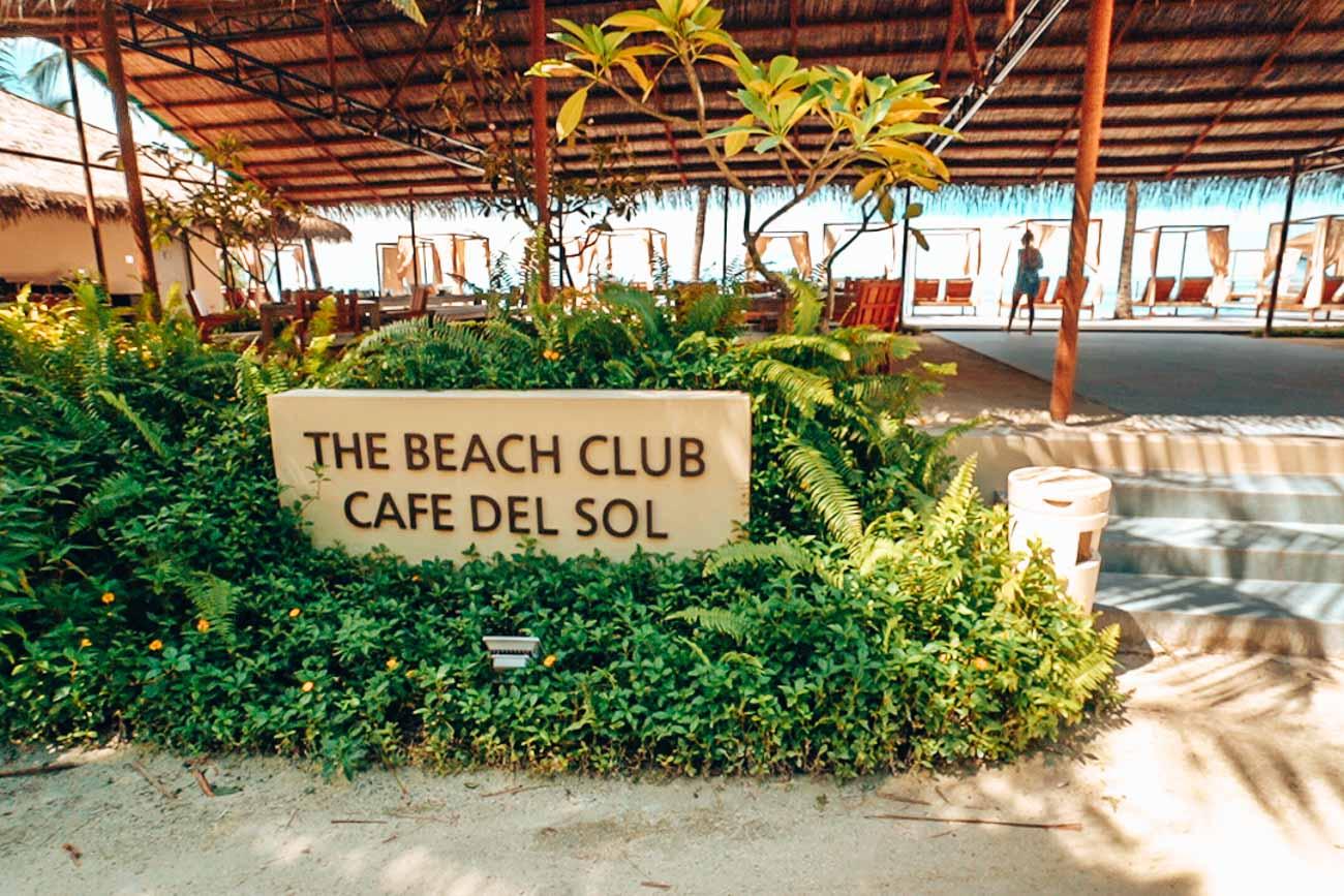 Beach Club at The Residence Maldives