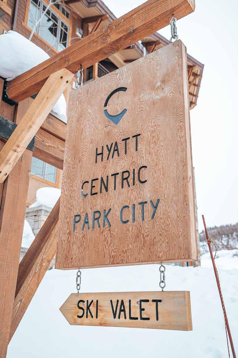 Hyatt Centric Park City Ski Valet