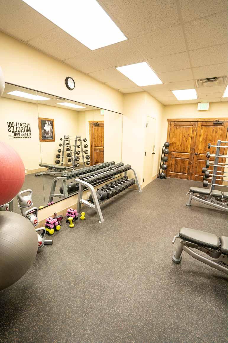 Hyatt Centric Park City fitness center