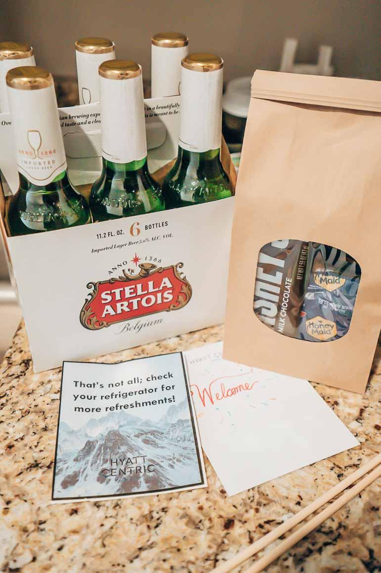 Hyatt Centric Park City gift