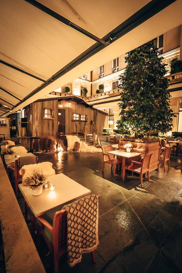 Dining at Park Hyatt Paris