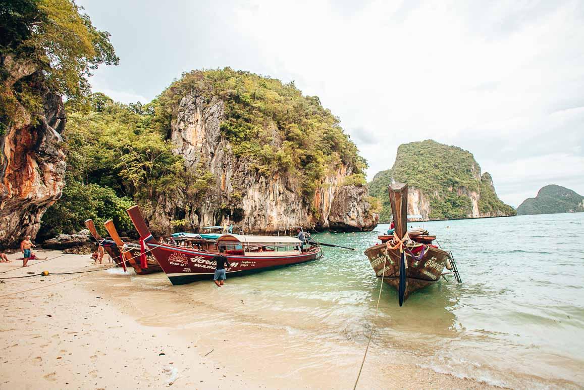 thailand boat trip james bond island