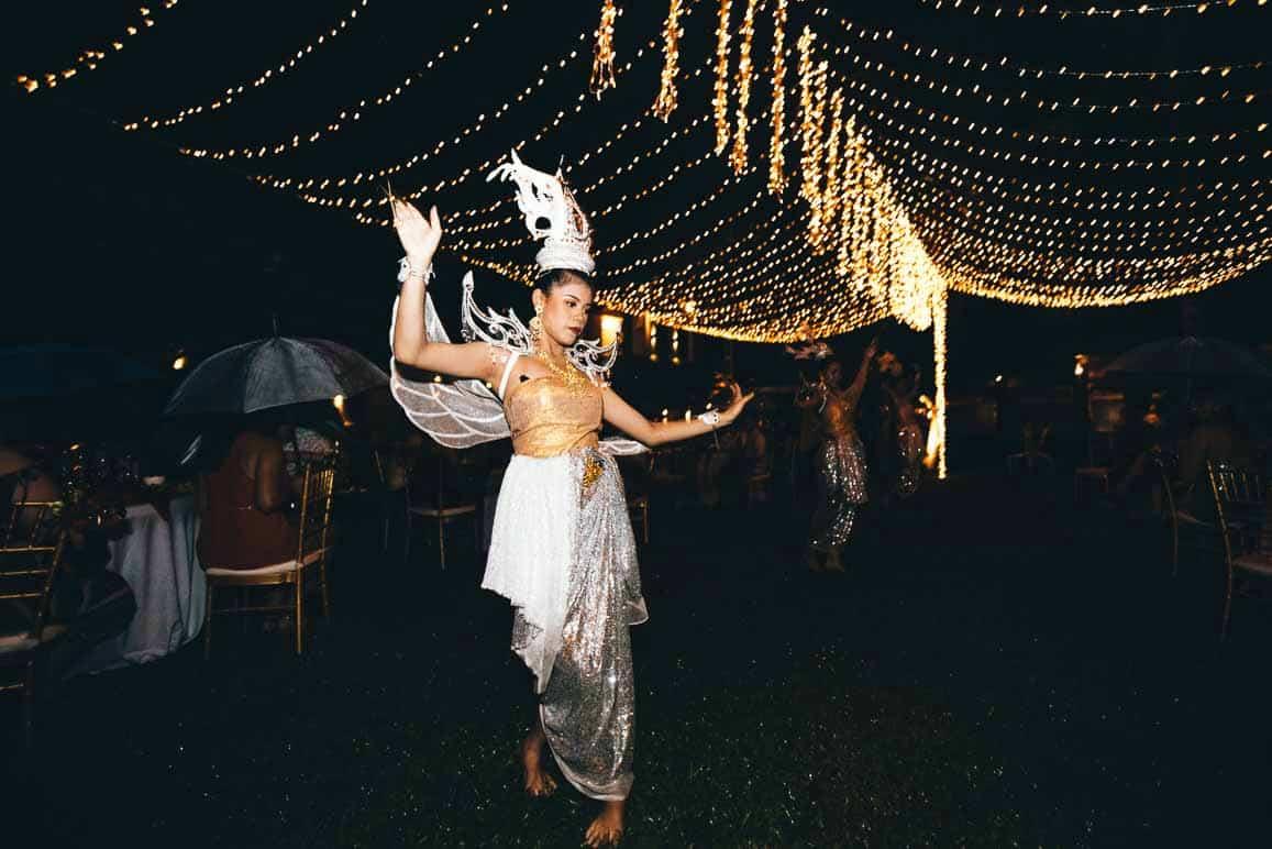 Thai dancers koh yao noi