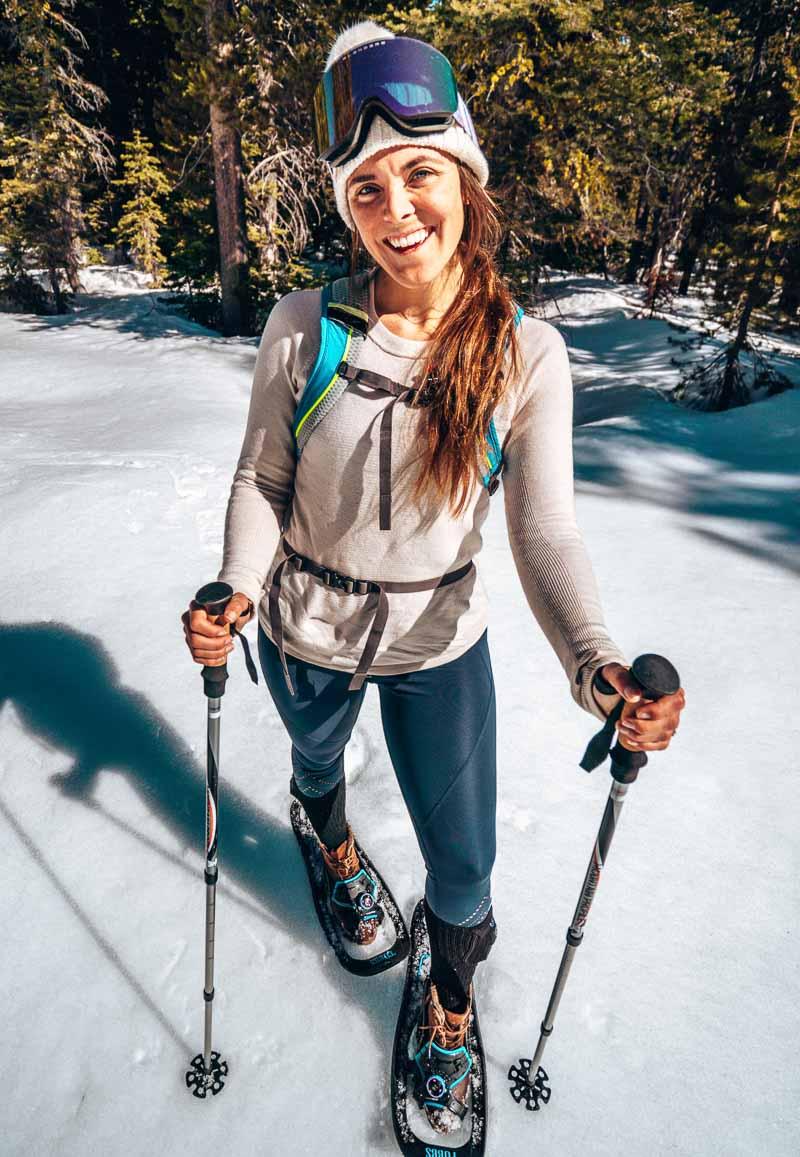 snowshoeing in Lake Tahoe