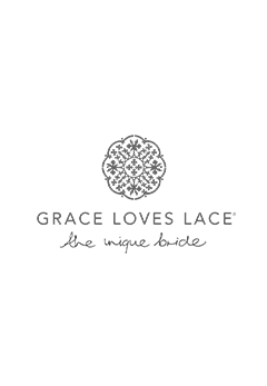 grace loves lace wedding logo