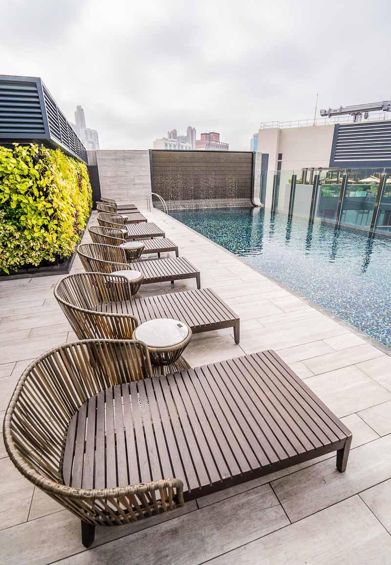 Hyatt Centric Hong Kong pool