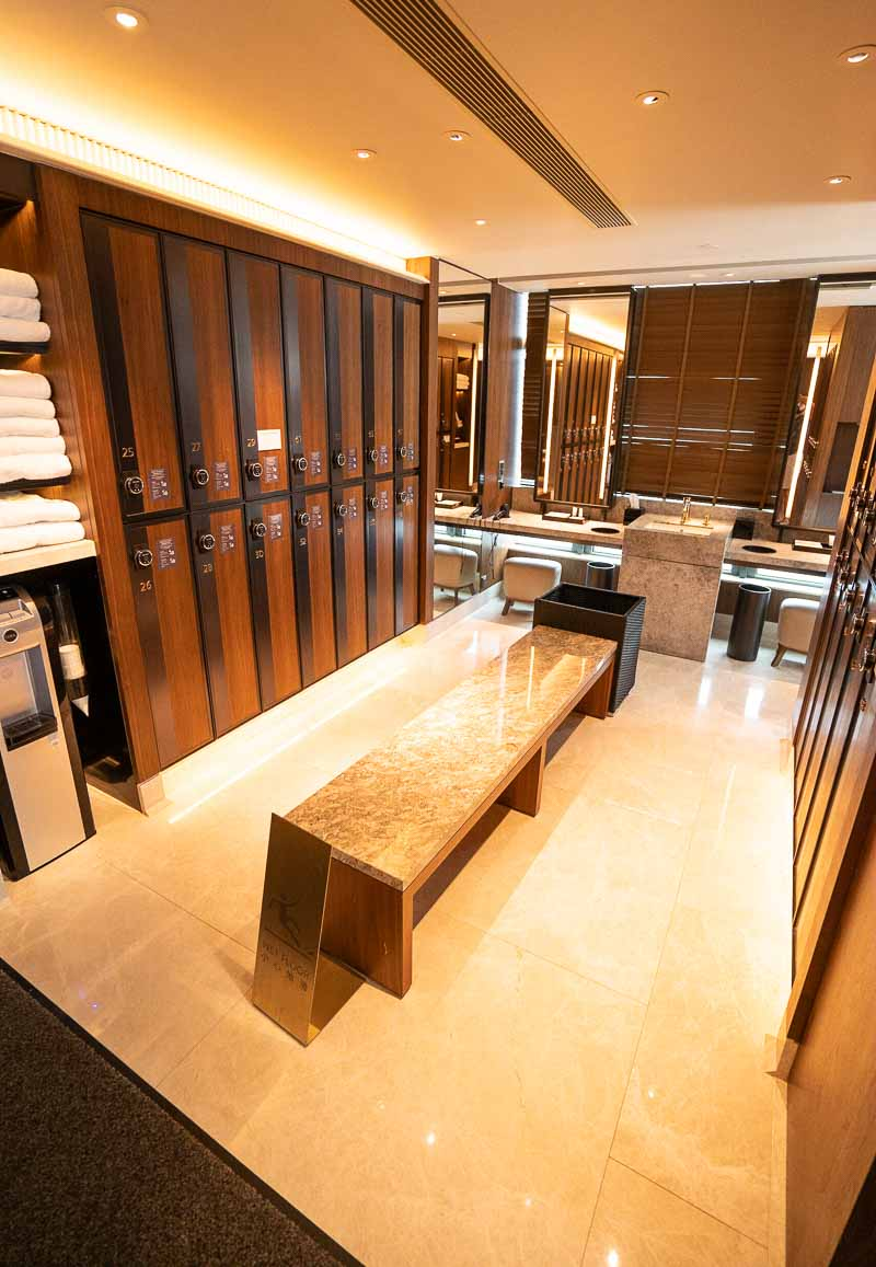 Hyatt Centric Hong Kong locker room