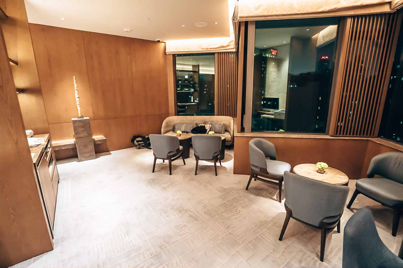 Hyatt Centric Hong Kong Harbour Lounge