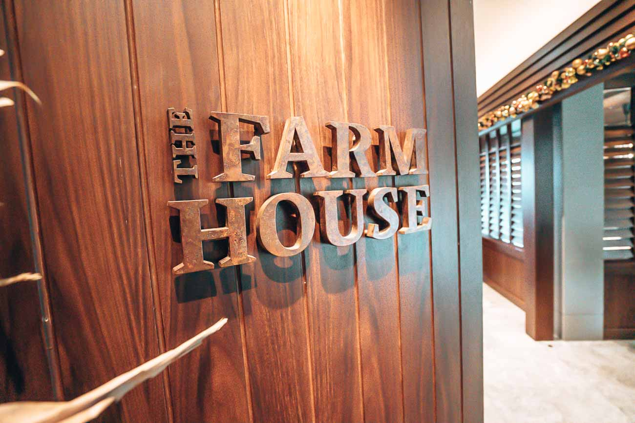 Hyatt Centric Hong Kong farm house restaurant