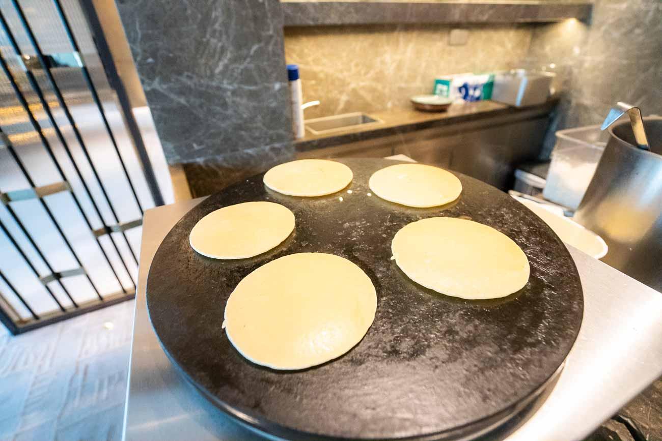 Hyatt Centric Hong Kong pancakes