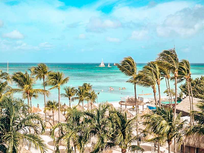 palm beach in aruba