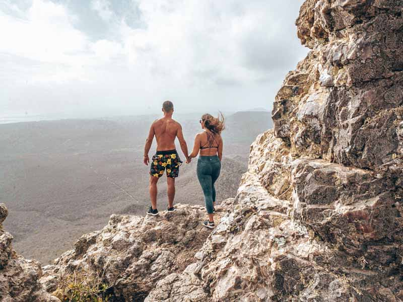 hike to the top of christoffelberg curacao