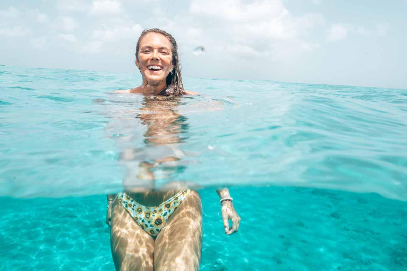 curacao playa forti swimming