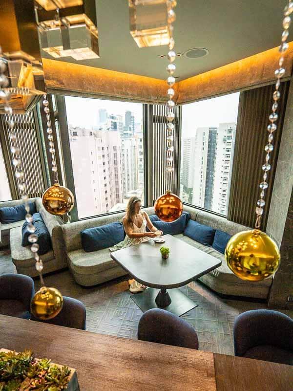 Hong Kong Hyatt Centric Victoria Harbour Lounge