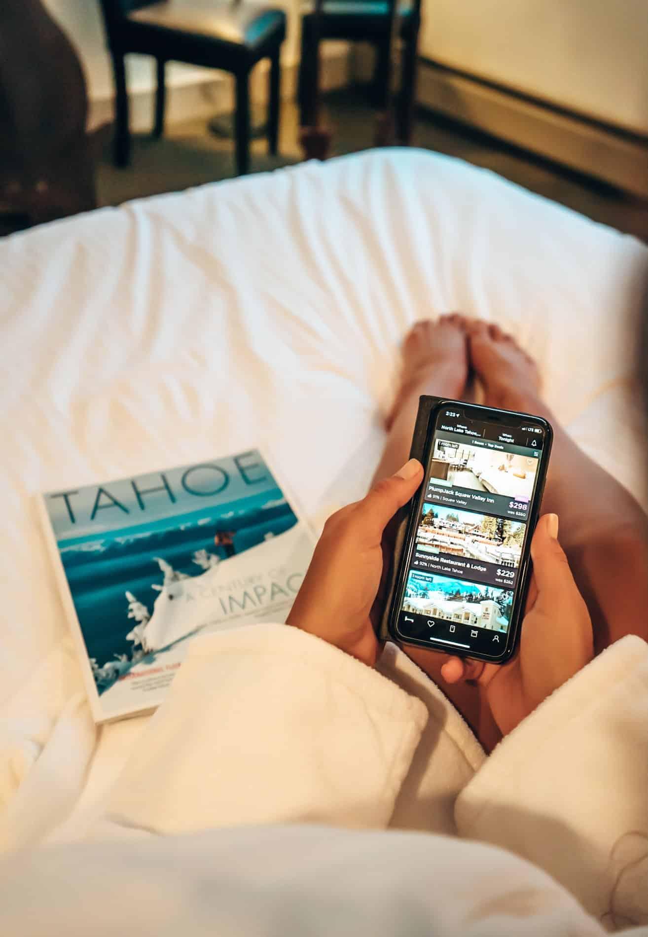 booking a hotel hoteltonight
