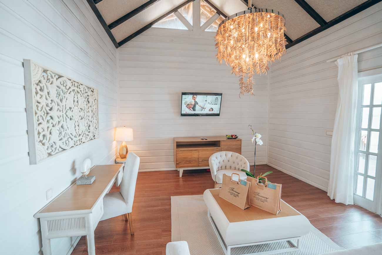 living room with beautiful furnishings