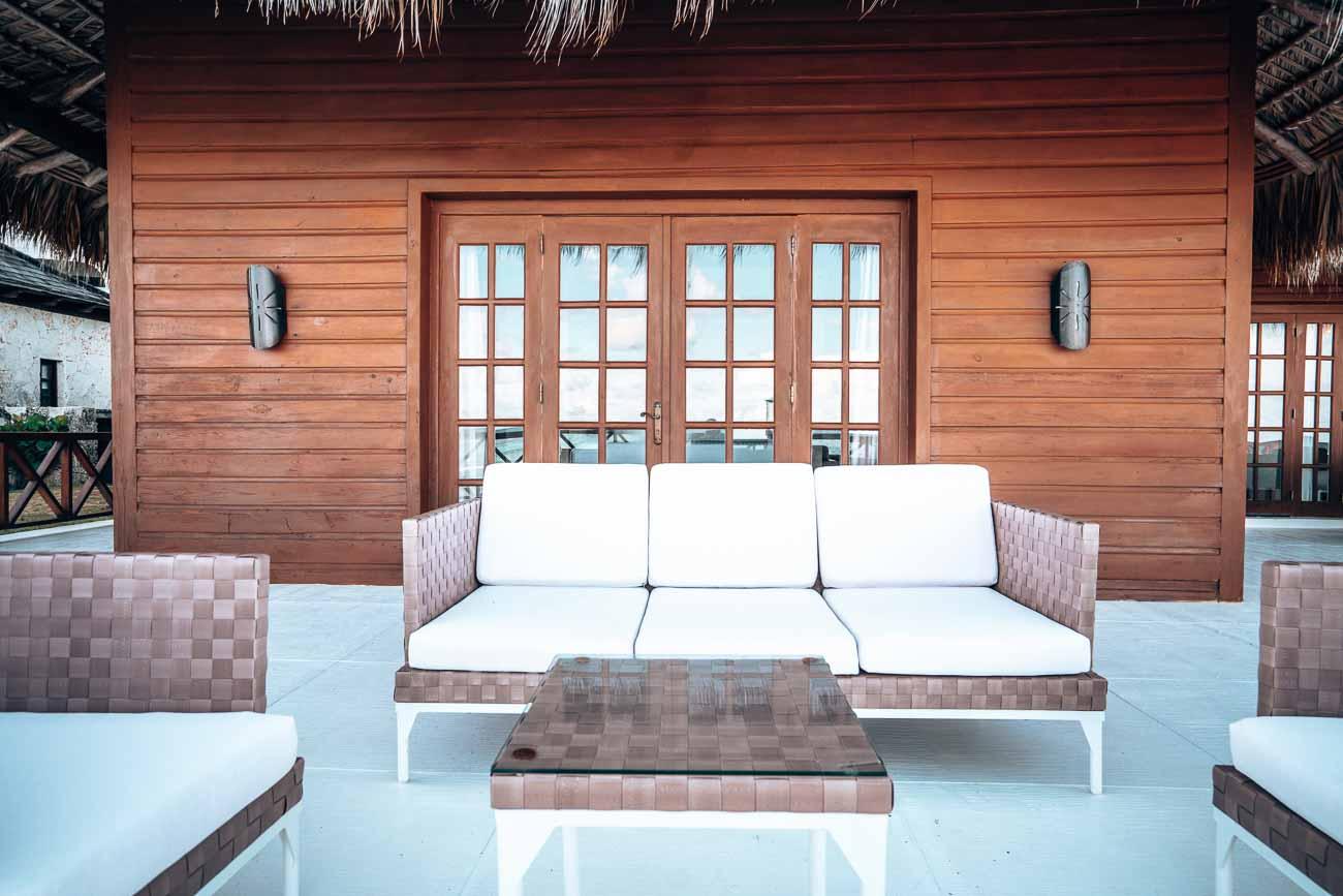 best hotel patios- overwater bungalow