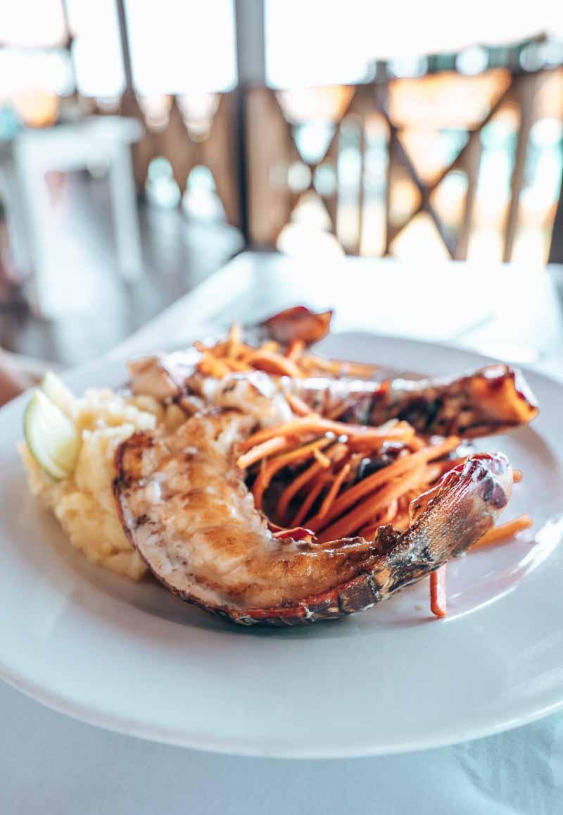 delicious lobster
