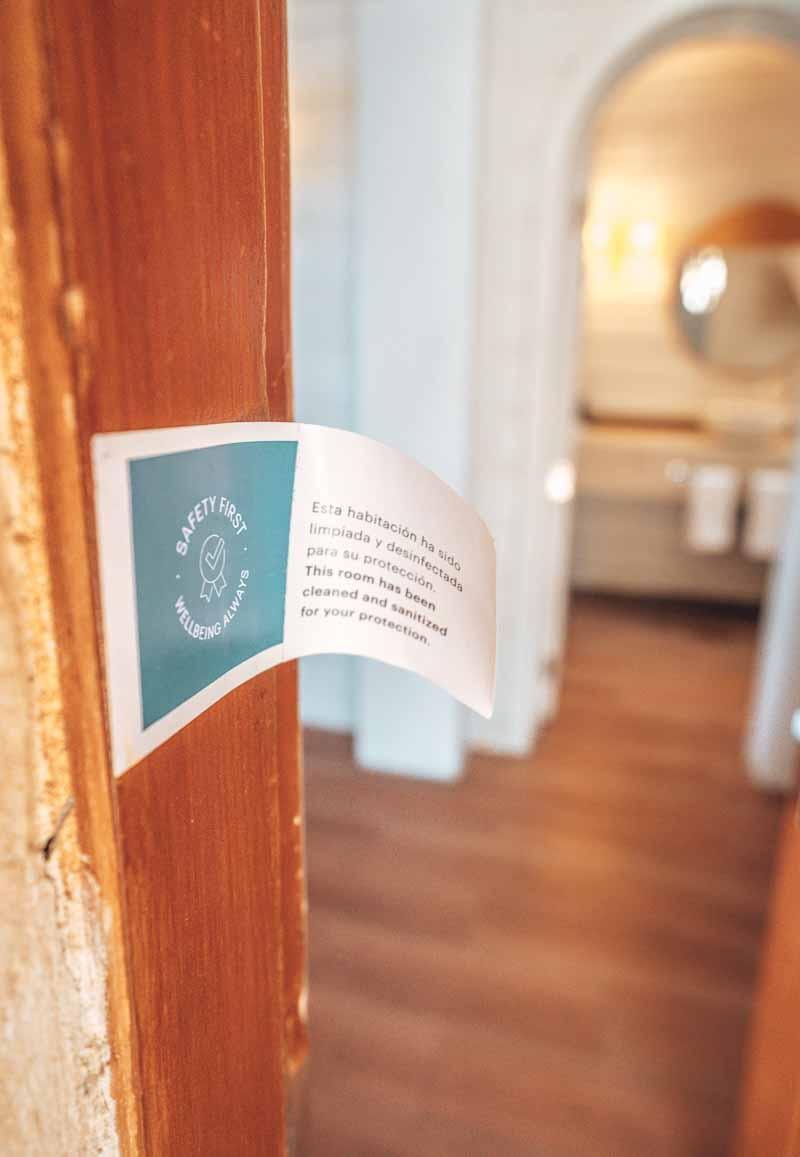 covid sanitizing room sanctuary cap cana