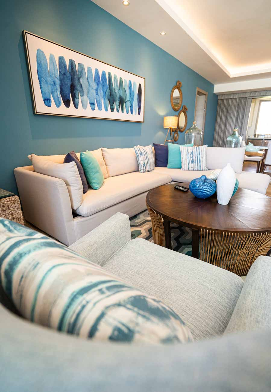 beach chic living room goals