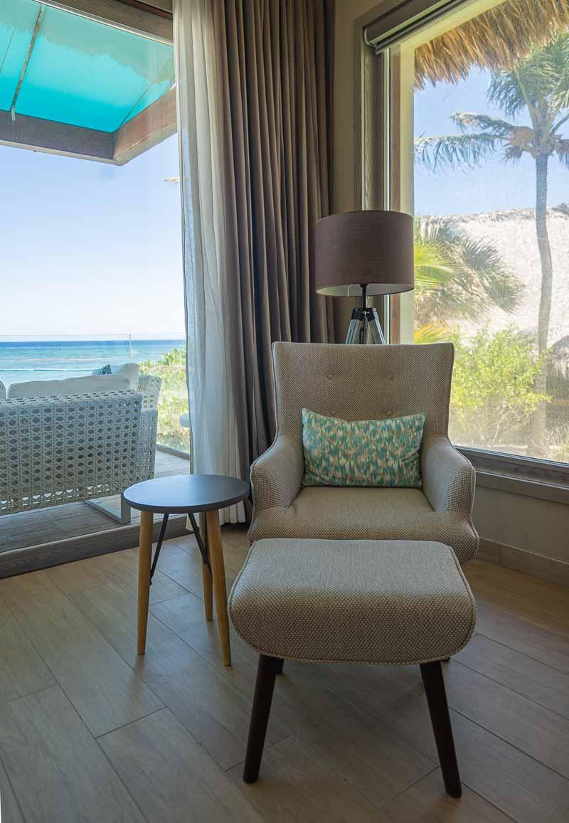 luxury furnishings in hotel
