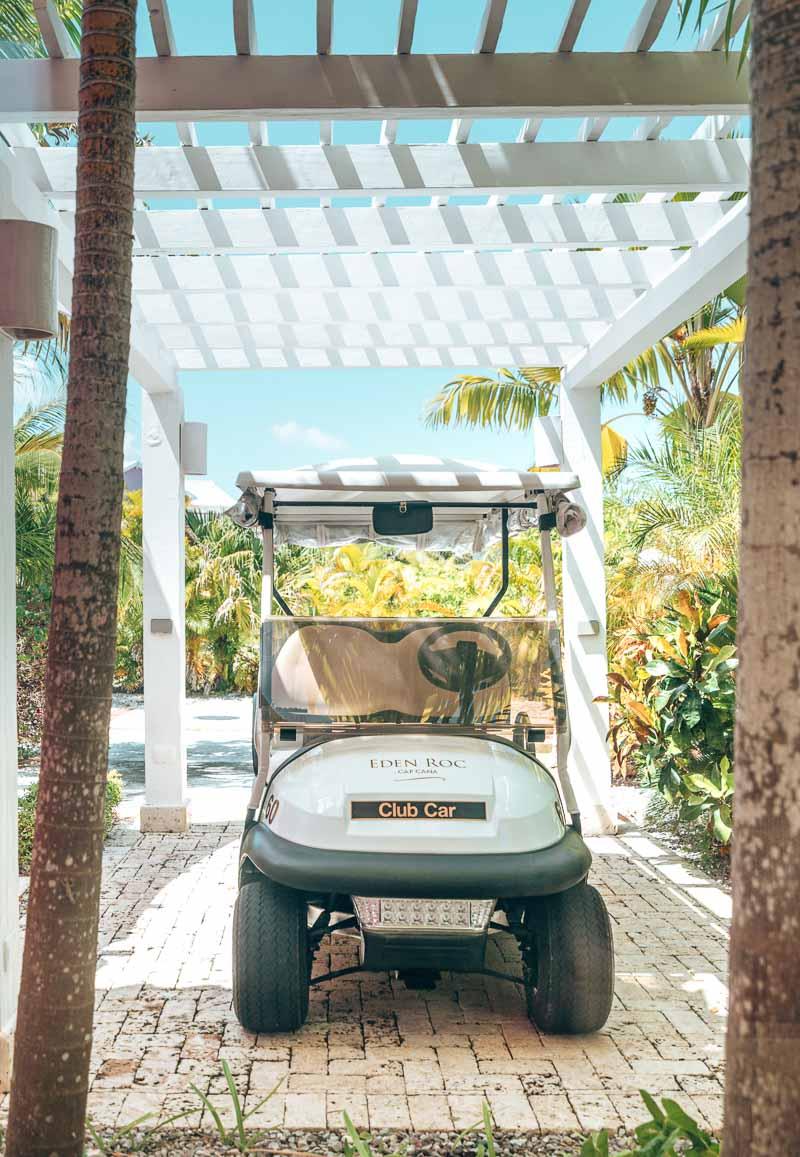 personal golf cart hotel