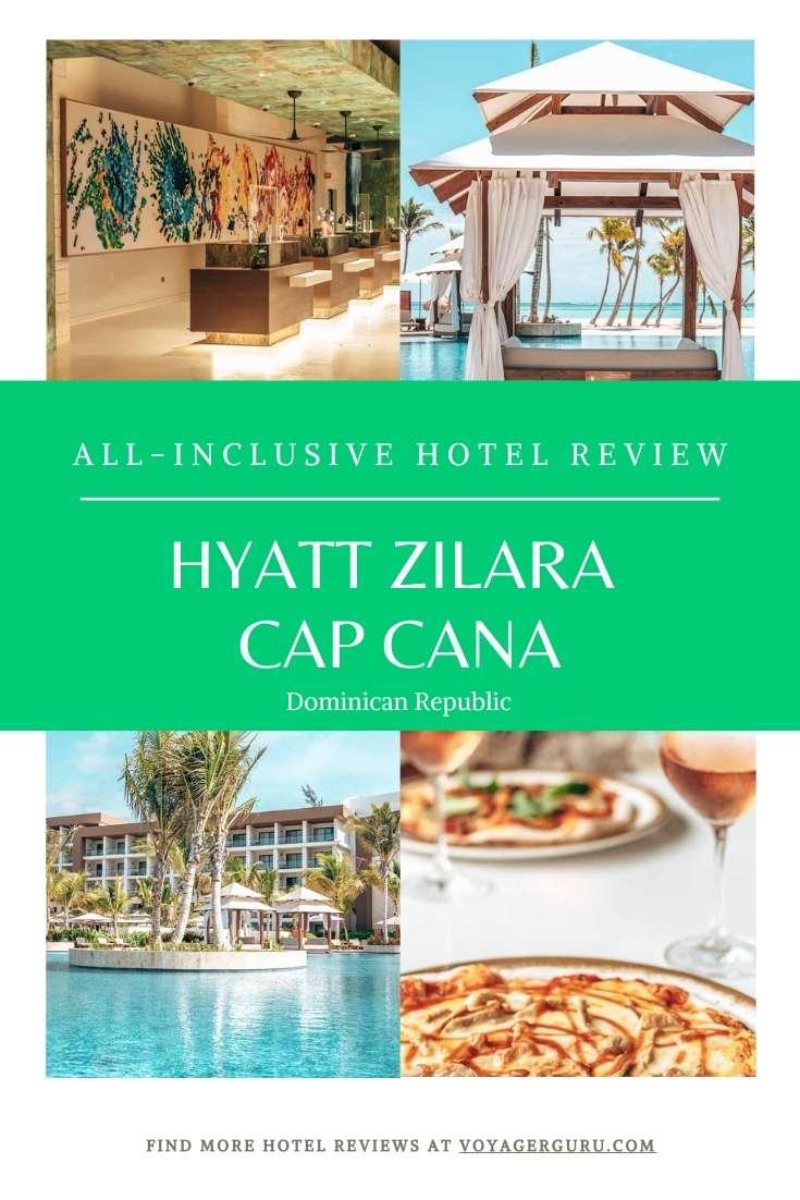 Hyatt Zilara Cap Cana Pin