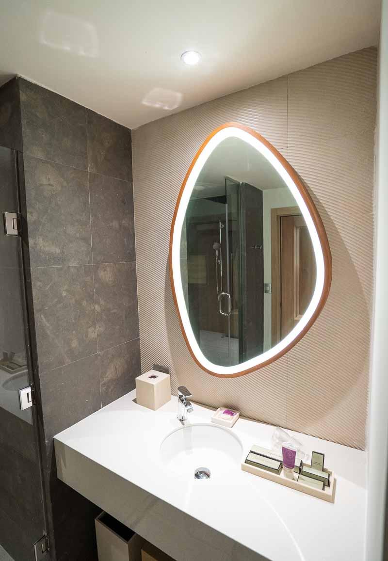 hotel suite mirror