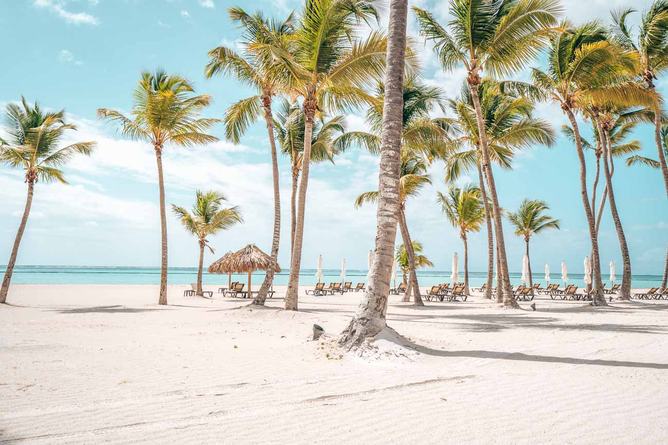 beautiful beachfront