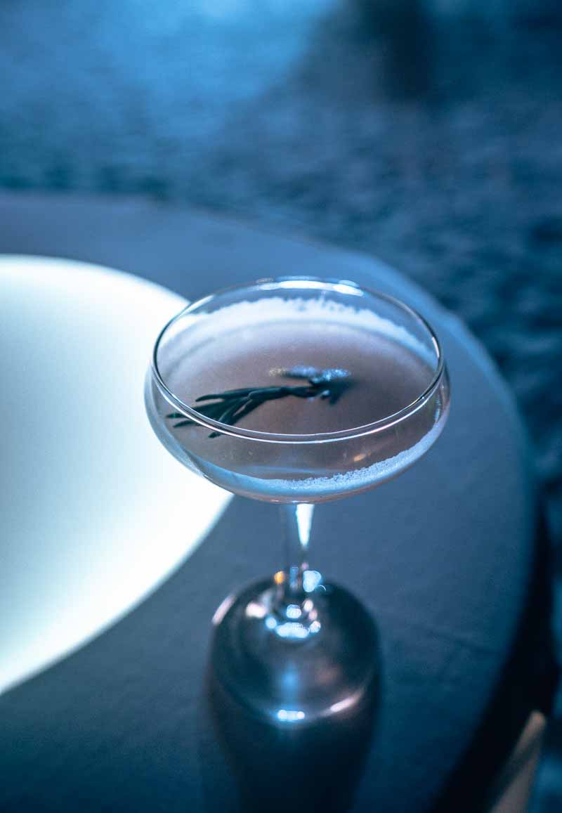 nighttime cocktail