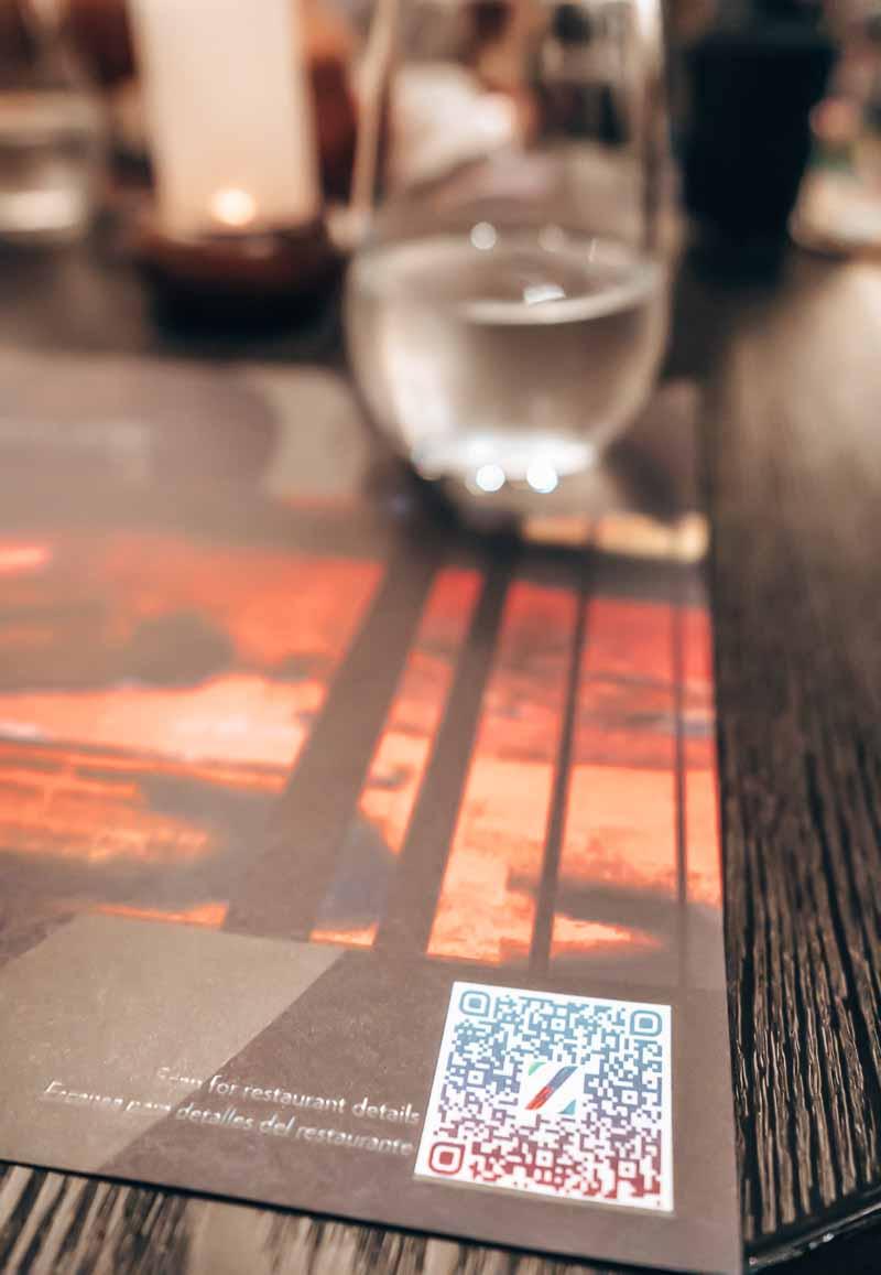 covid qr code restaurant