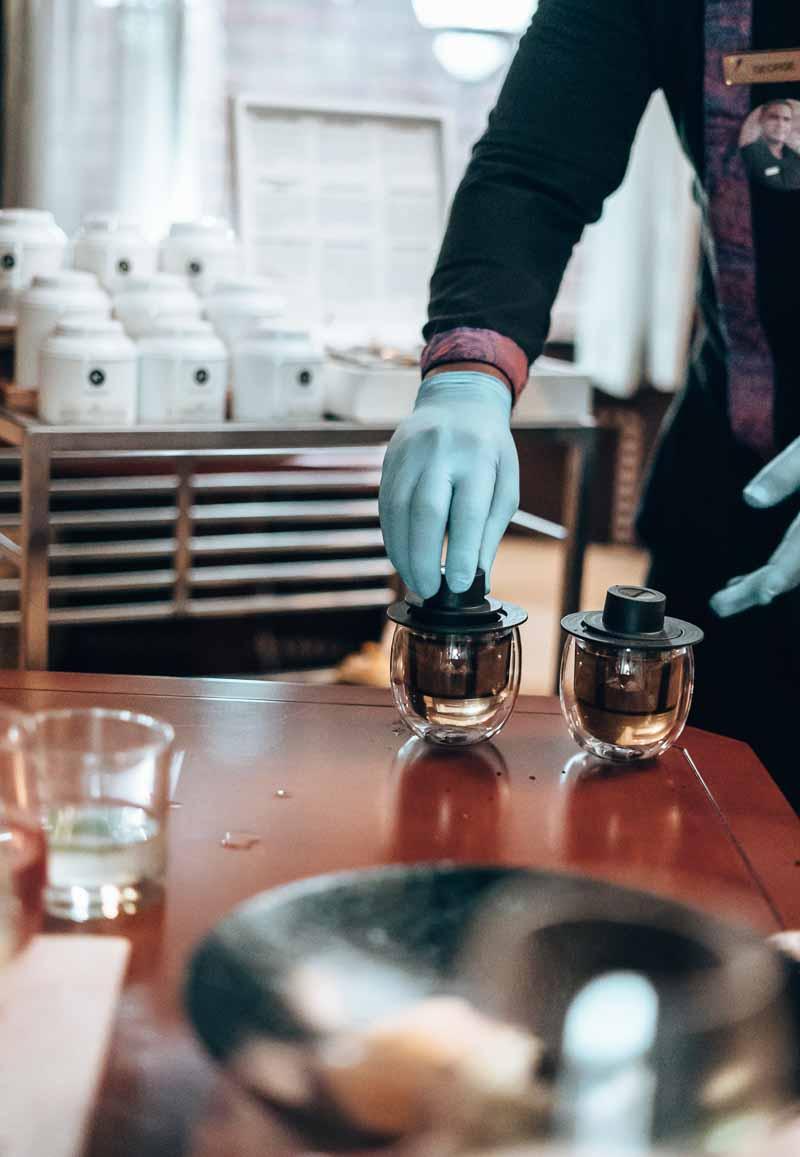 chai tea service