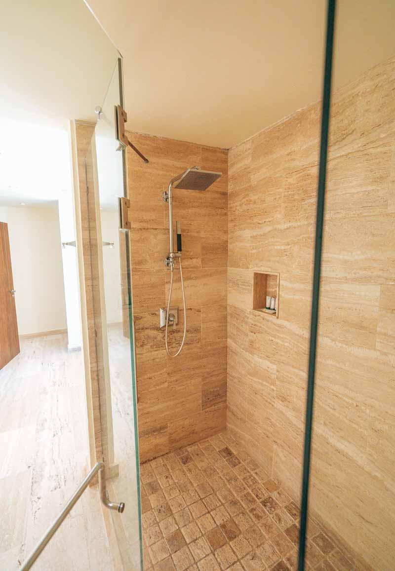 Westin Punta Cana premium king room luxury shower