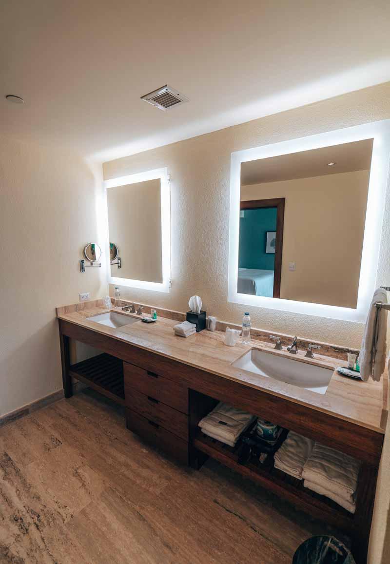Westin Punta Cana premium king room bathroom