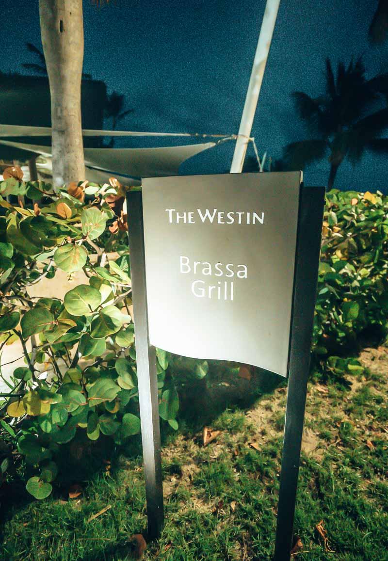 Westin Punta Cana dining