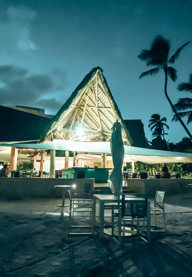 Westin Punta Cana brassa at night poor lighting