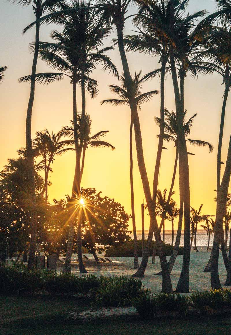 sunrise at Westin Punta Cana