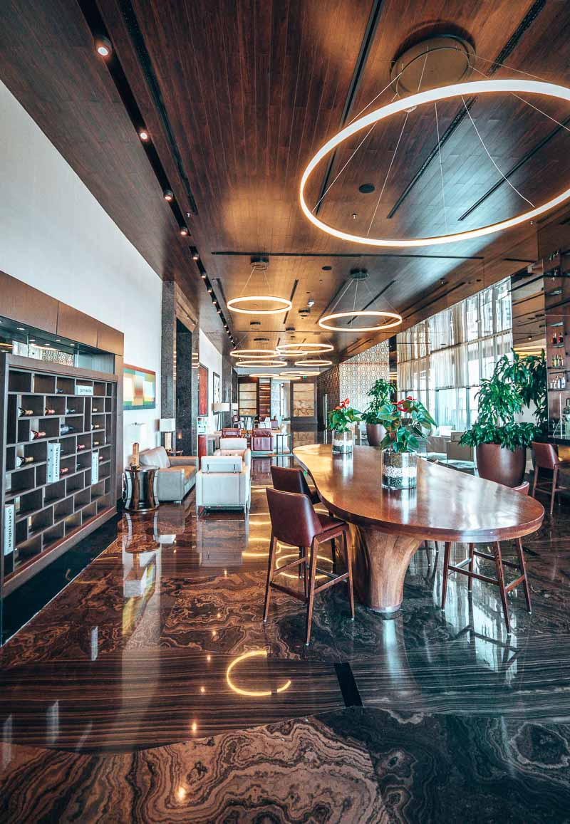 bar area hotel dining JW Marriott Santo Domingo