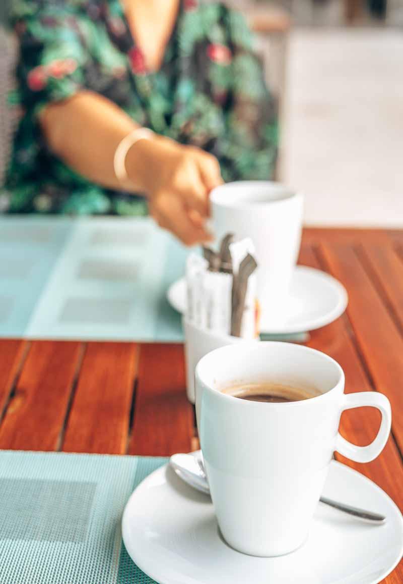 breakfast coffee dining JW Marriott Santo Domingo