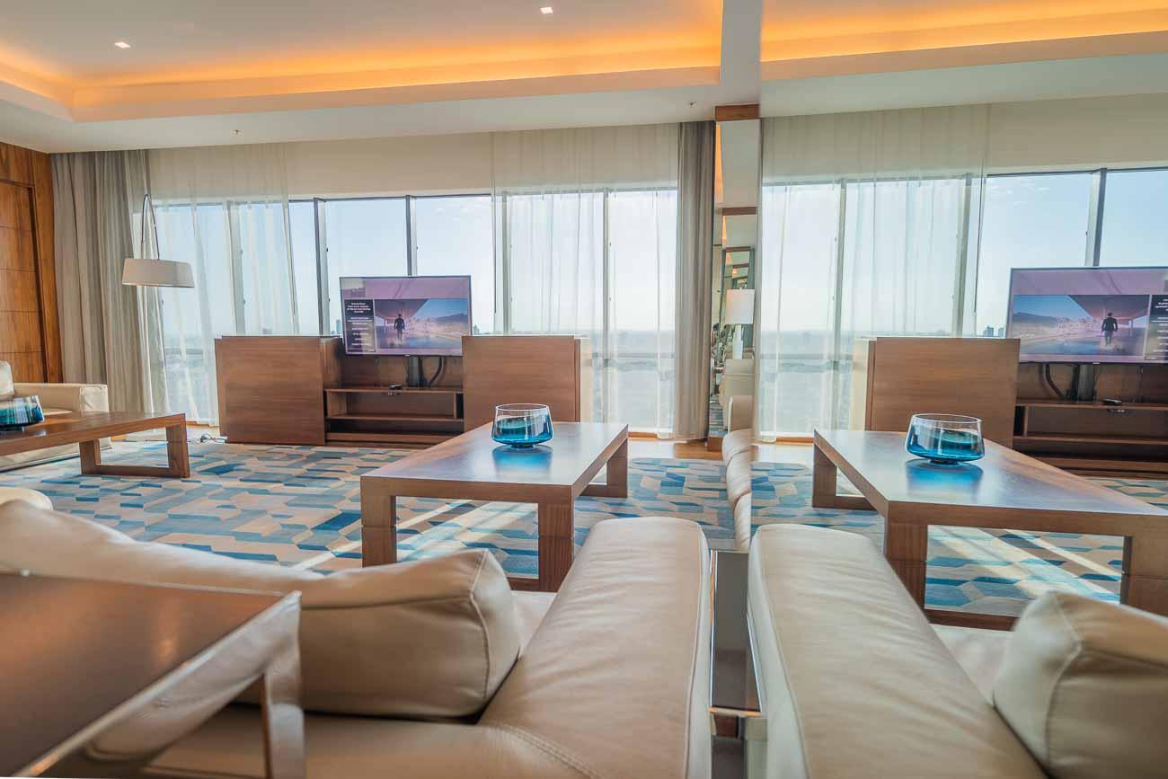presidential suite JW Marriott Santo Domingo
