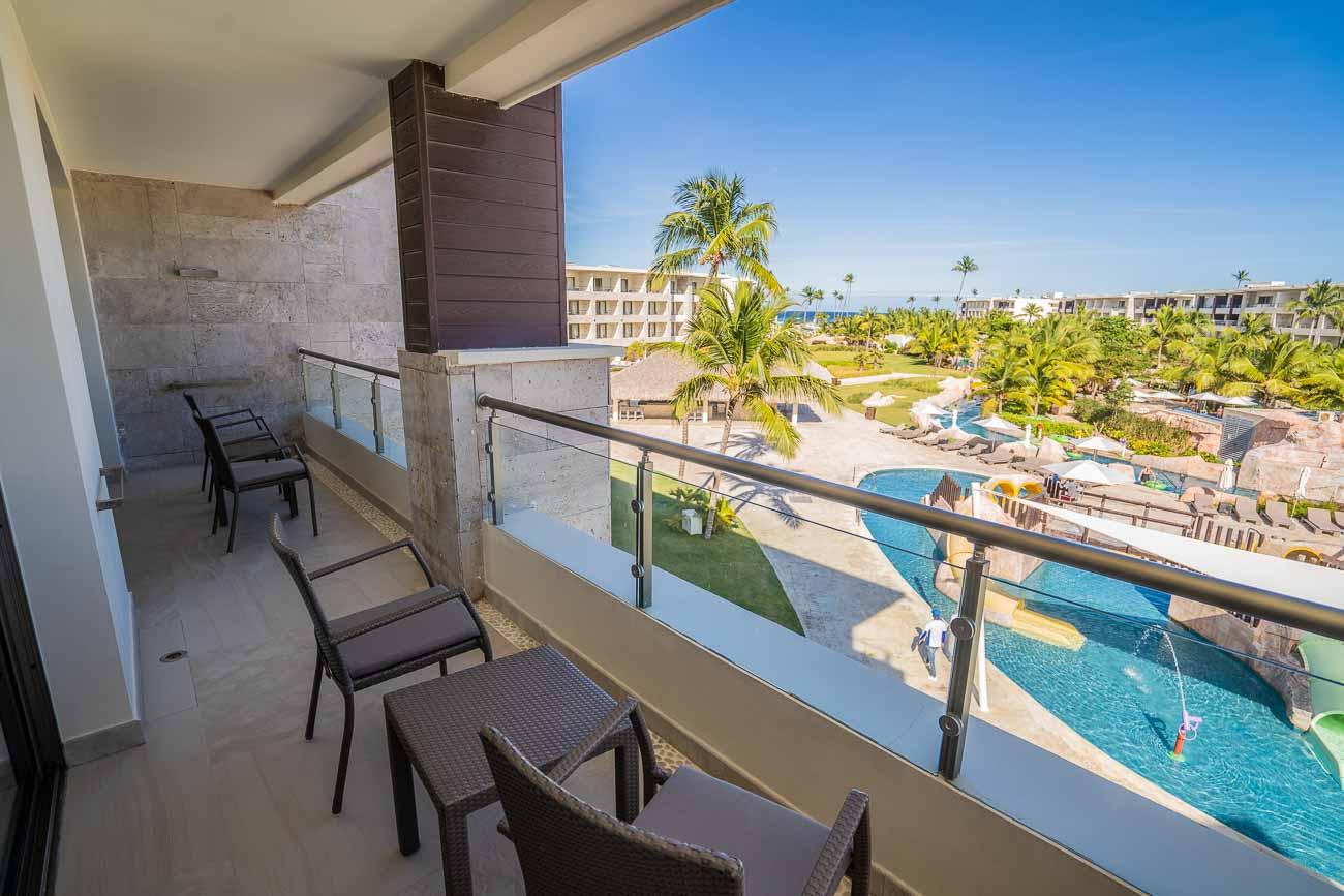 patio in hotel suite