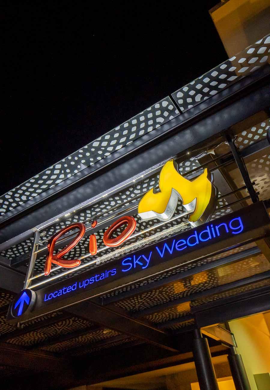 Restaurant sign Rio