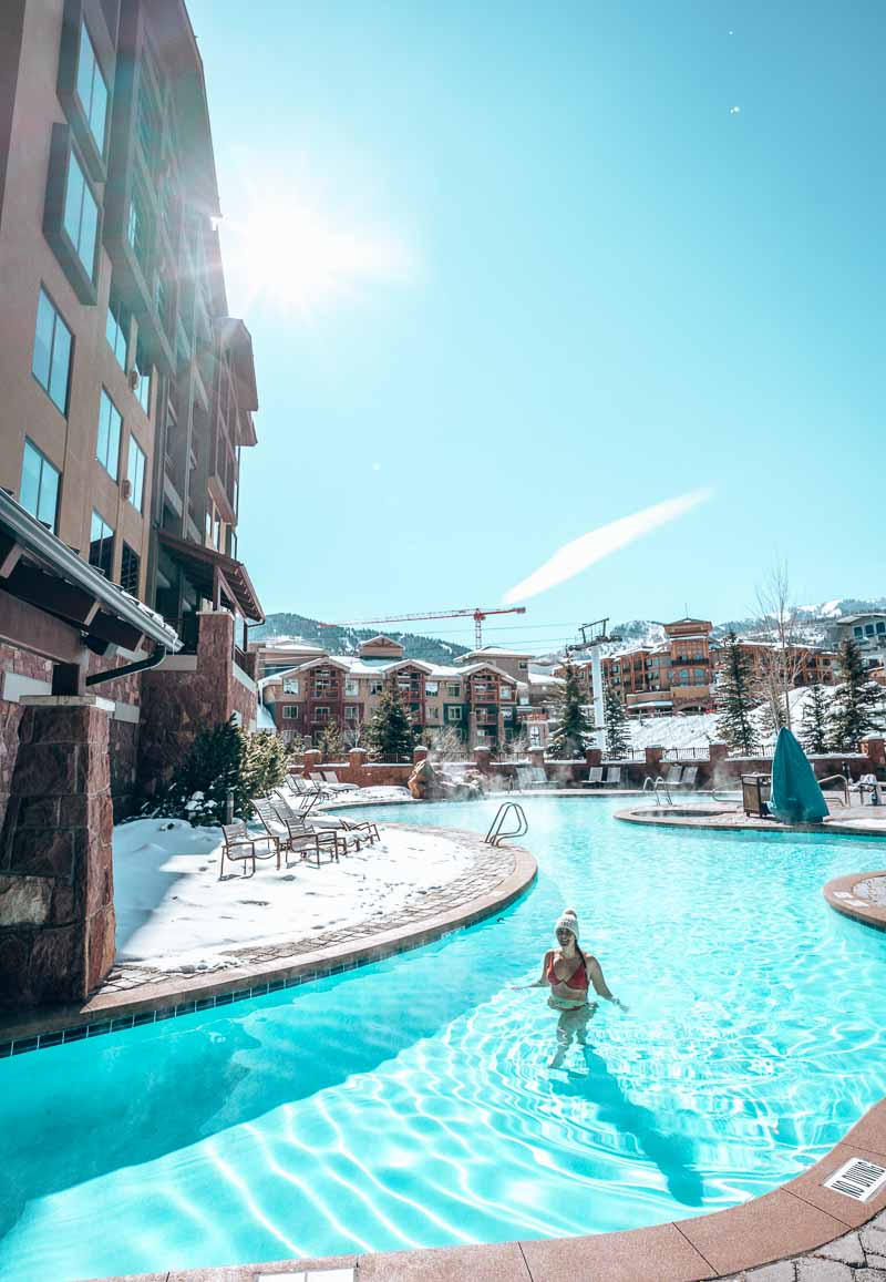hot tub and pool grand summit park city