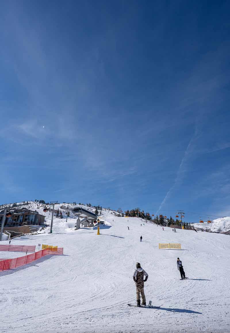 ski hill outside grand summit park city