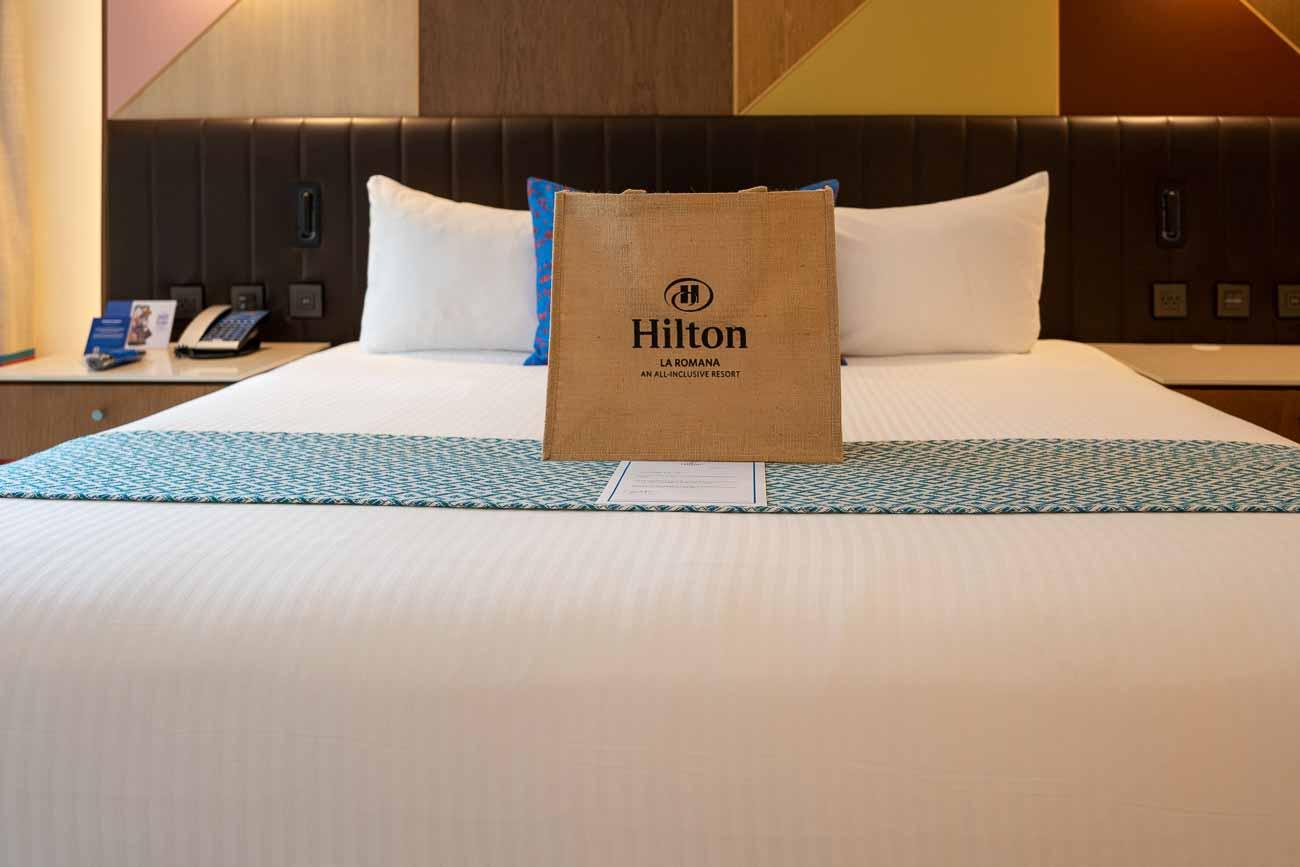 Hilton La Romana adults swim out