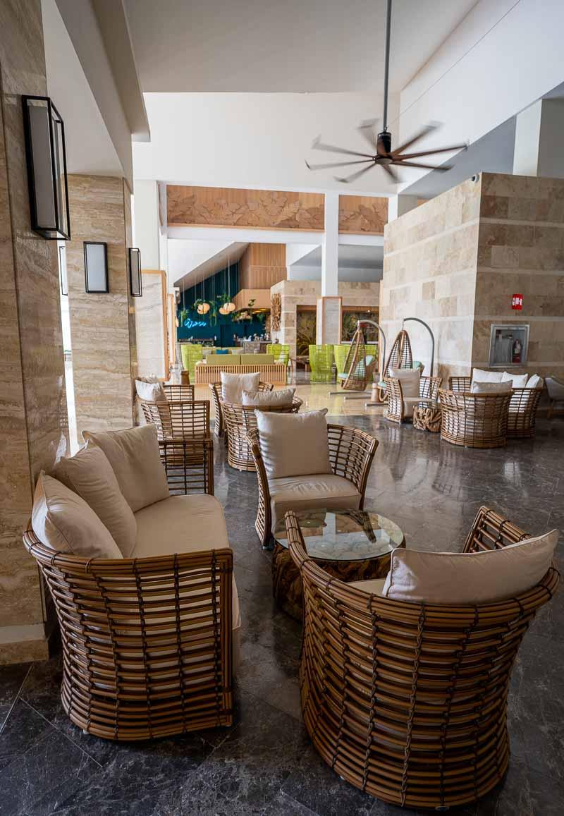 Hilton La Romana adults lobby
