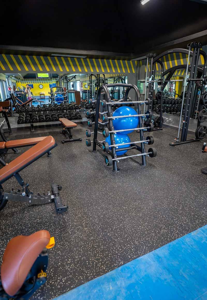 hilton la romana gym