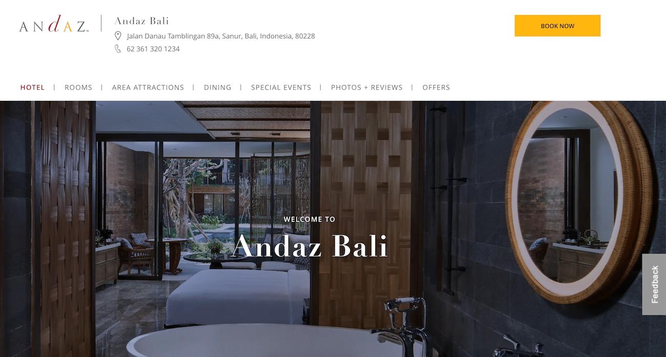 NEW andaz Bali